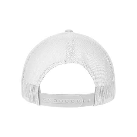 Flexfitkeps röd 6777 Athletic Mesh