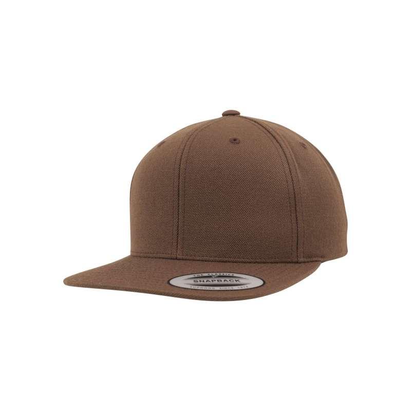 Snapback-keps, barkbrun Yupoong